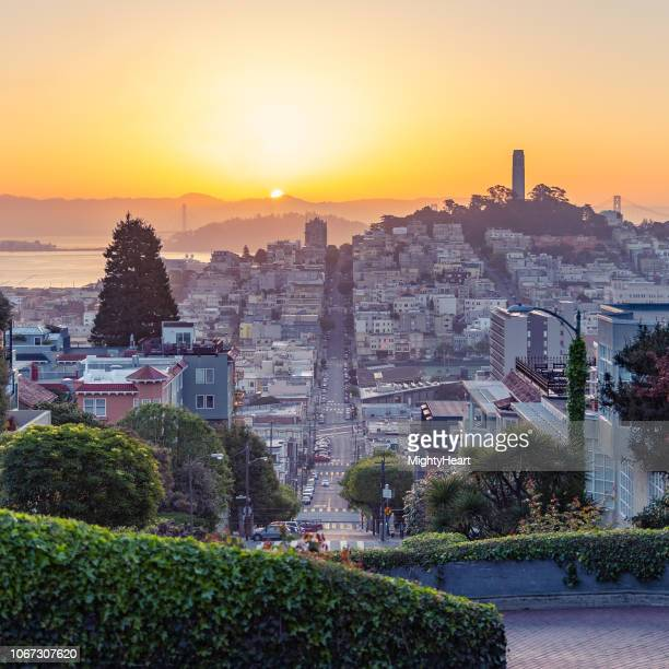 wake up - lombard street san francisco stock pictures, royalty-free photos & images