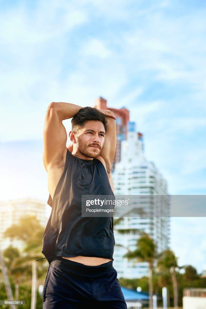 Diese Muskeln aufwachen : Stock-Foto