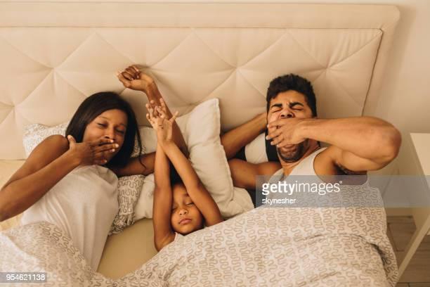 Aufwachen im Bett!