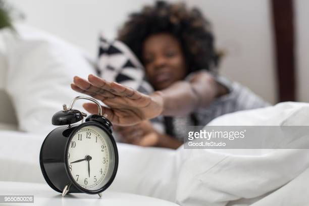 waking up - big hair stock pictures, royalty-free photos & images
