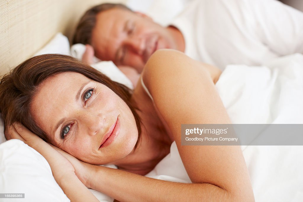 Waking up with a smile : Stock Photo