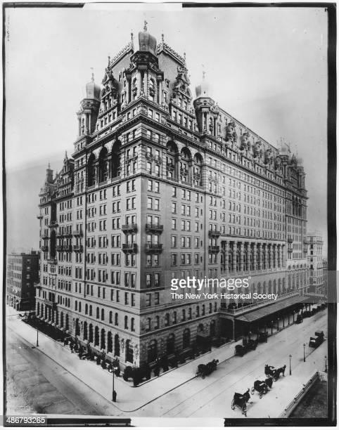 Waldorf-Astoria Hotel, New York, New York, 1898.