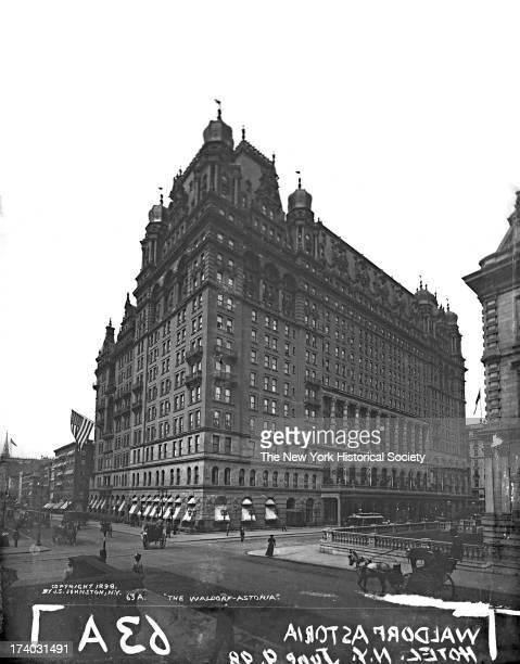 Waldorf-Astoria Hotel, New York, New York, June 1898.