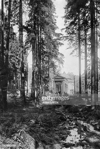 Waldquelle Aufnahme Stengel Co 1896