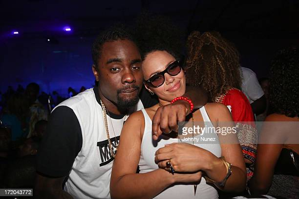 Wale and Elle Varner attend BET Post Party at SupperClub Los Angeles on June 30 2013 in Los Angeles California