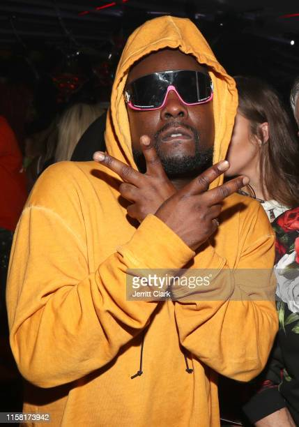 Wale attends Quavo John Wall And Lou Williams Host NBA Awards After Party at Bootsy Bellows on June 24 2019 in West Hollywood California