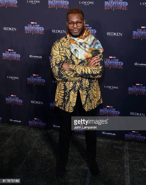Wale Oyejide attends Marvel Studios Presents Black Panther Welcome To Wakanda during February 2018 New York Fashion Week The Shows at Industria...