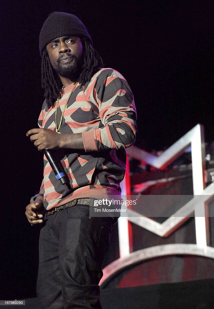 Wale performs as part of The Maybach Music Group Tour at Sleep Train Arena on December 1, 2012 in Sacramento, California.