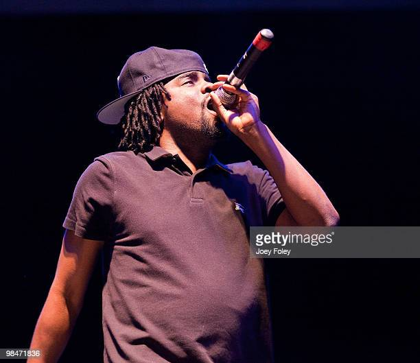 Wale performs at Newport Music Hall on April 14 2010 in Columbus Ohio