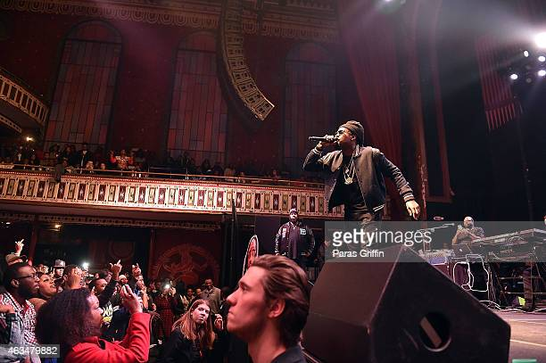 Wale performs at The Tabernacle on February 14 2015 in Atlanta Georgia