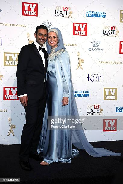 Waleed Aly arrives at the 58th Annual Logie Awards at Crown Palladium on May 8 2016 in Melbourne Australia