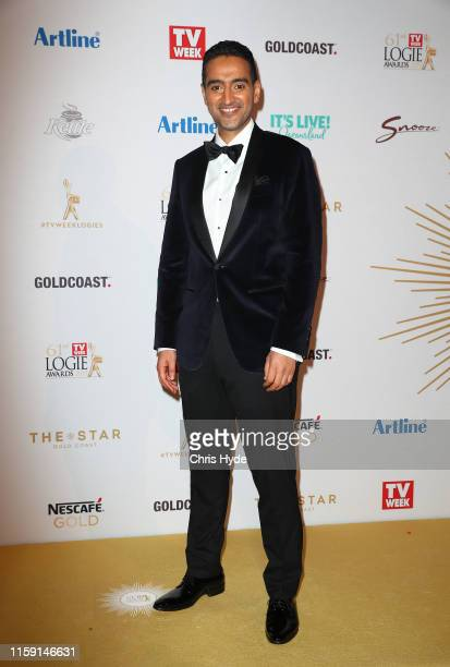 Waleed Aly arrives at the 61st Annual TV WEEK Logie Awards at The Star Gold Coast on June 30 2019 on the Gold Coast Australia