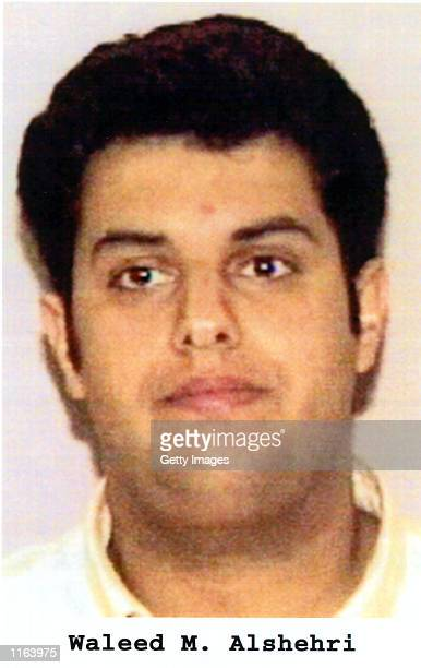 Waleed M Alshehri one of the suspected hijackers of American Airlines that crashed into World Trade Center in New York during a terror attack in an...