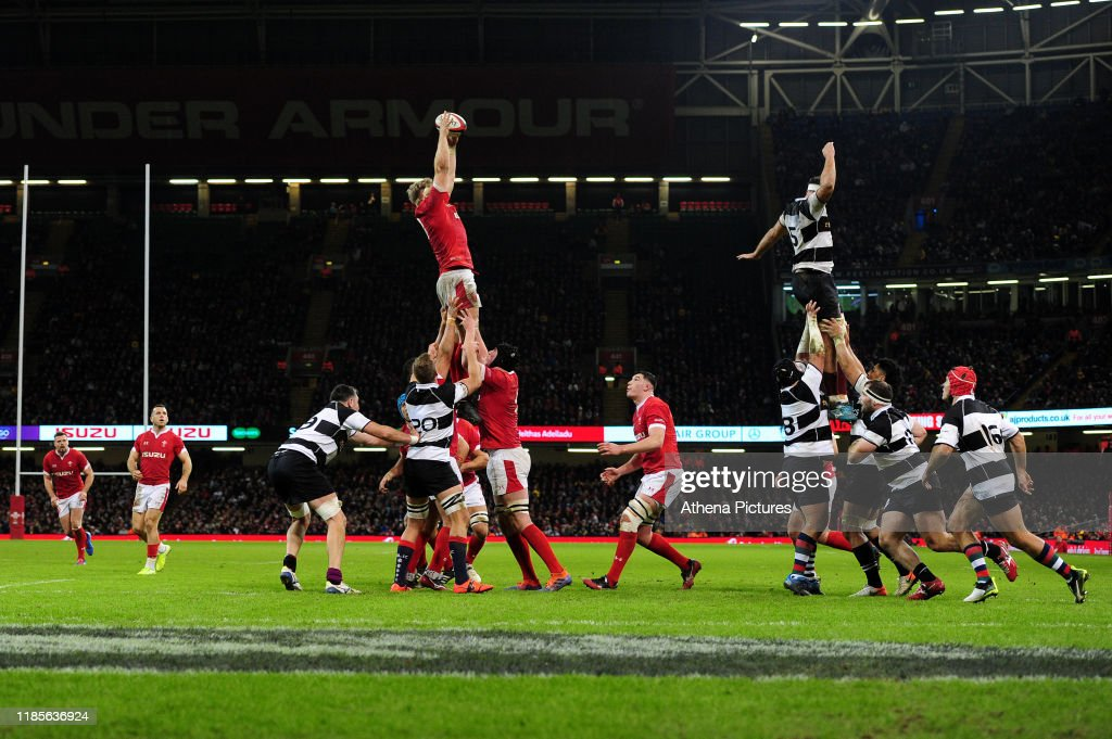 Wales v Barbarians - International friendly match : News Photo
