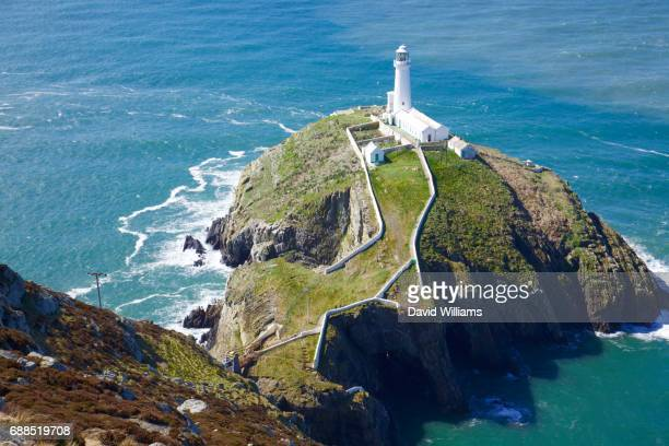 Wales, Anglesey, Holyhead - South Stack lighthouse