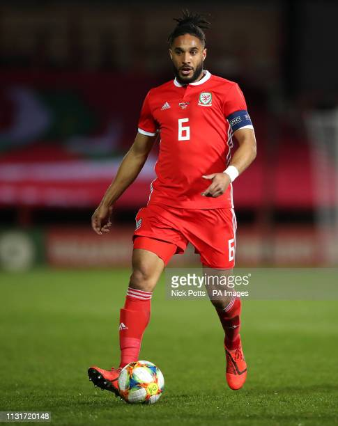 Wales Ashley Williams during the International Friendly match at the Racecourse Ground, Wrexham.