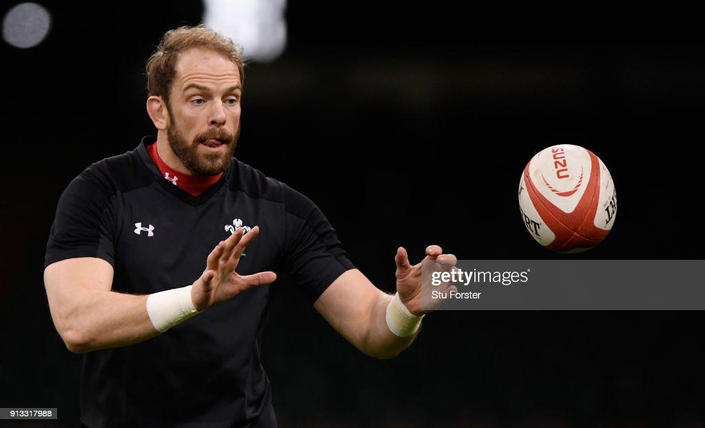 Wales Captain's Run : News Photo