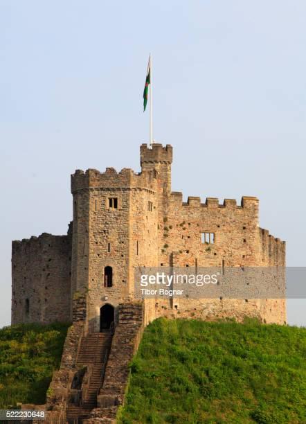 UK, Wales, Cardiff, Castle,