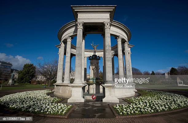 uk, wales, cardiff, welsh national war memorial - cardiff wales stock pictures, royalty-free photos & images