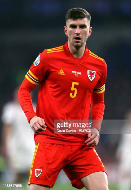 Wales' Chris Mepham Wales v Hungary - UEFA Euro 2020 Qualifying - Group E - Cardiff City Stadium .