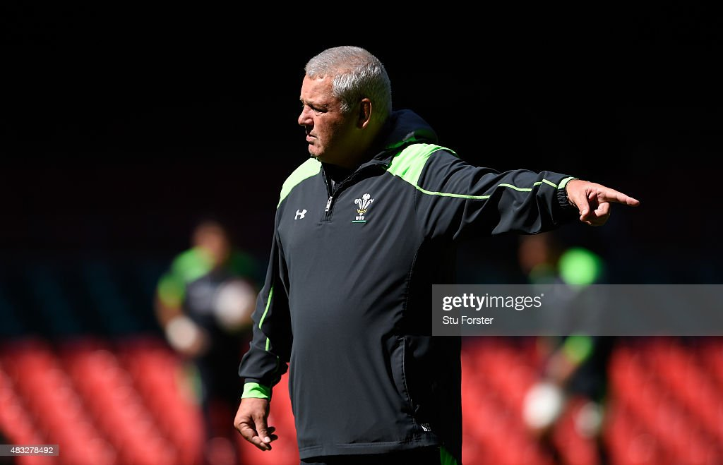 Wales Captain's Run : News Photo