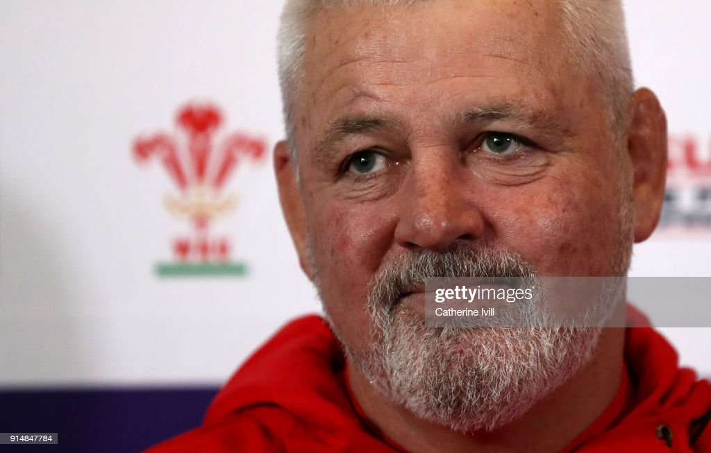 Wales Training and Press Conference : News Photo