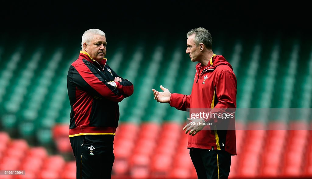 Wales Captains Run : News Photo