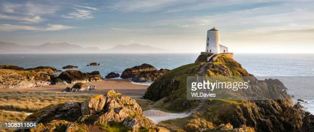 wales coastal landscape - wales stock pictures, royalty-free photos & images