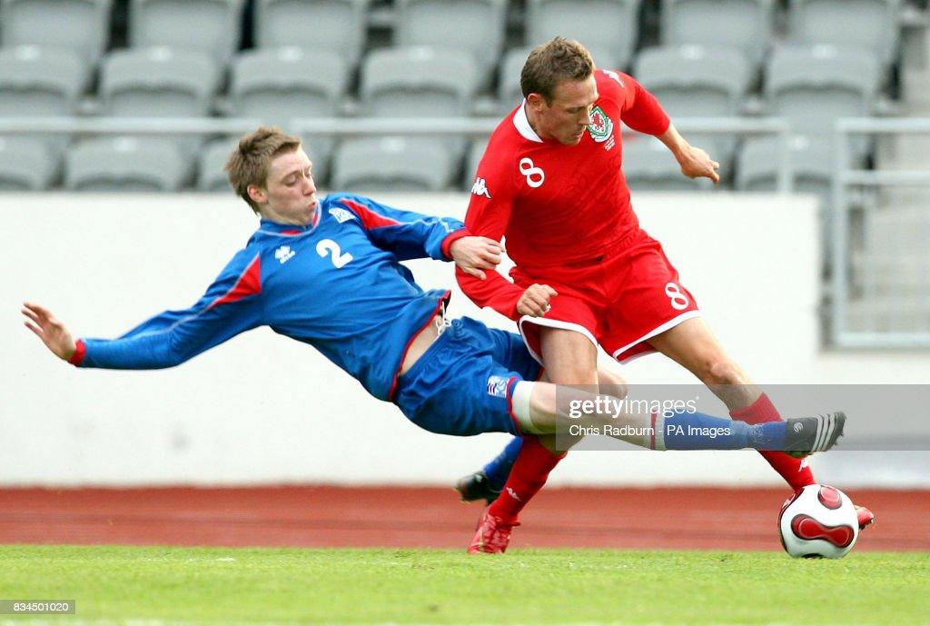 Soccer - Friendly - Iceland v Wales - Laugardal Stadium : News Photo