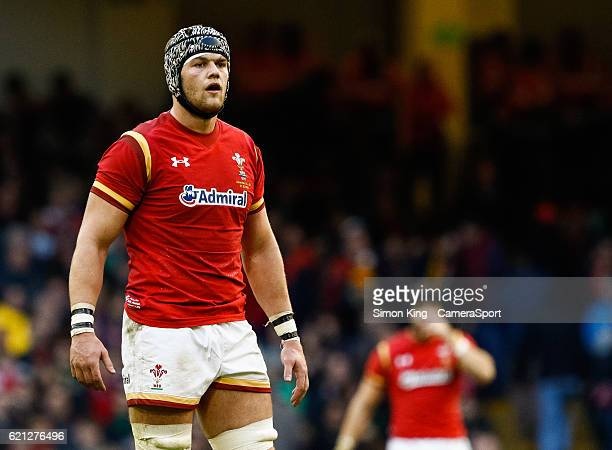 Wales' Dan Lydiate during the Autumn International match between Wales and Australia at Principality Stadium on November 5 2016 in Cardiff Wales