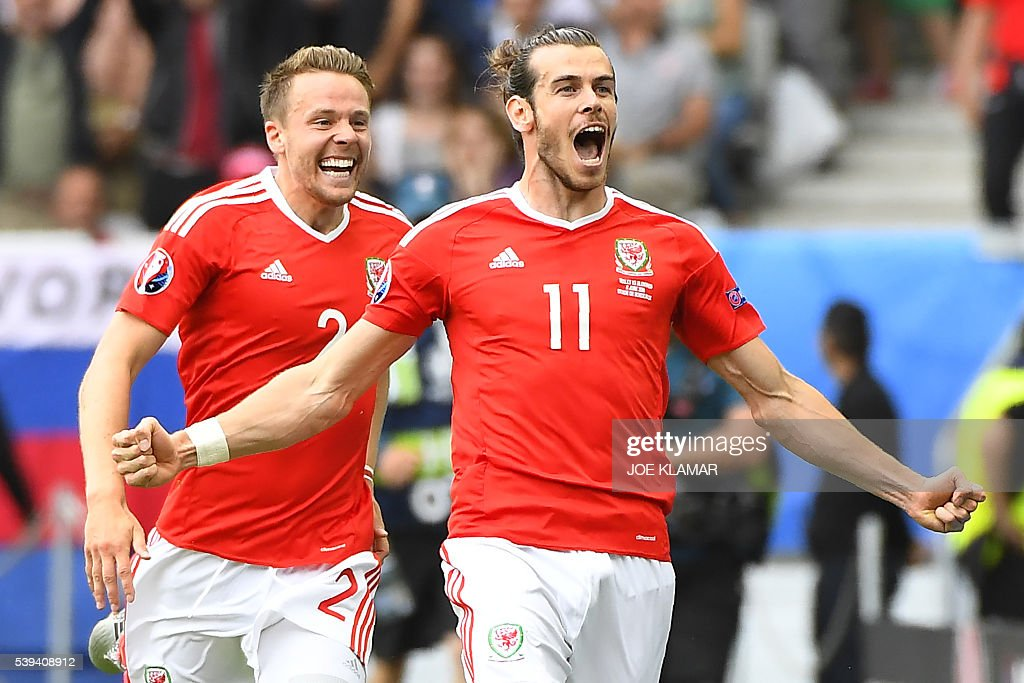 FBL-EURO-2016-MATCH3-WAL-SVK : News Photo