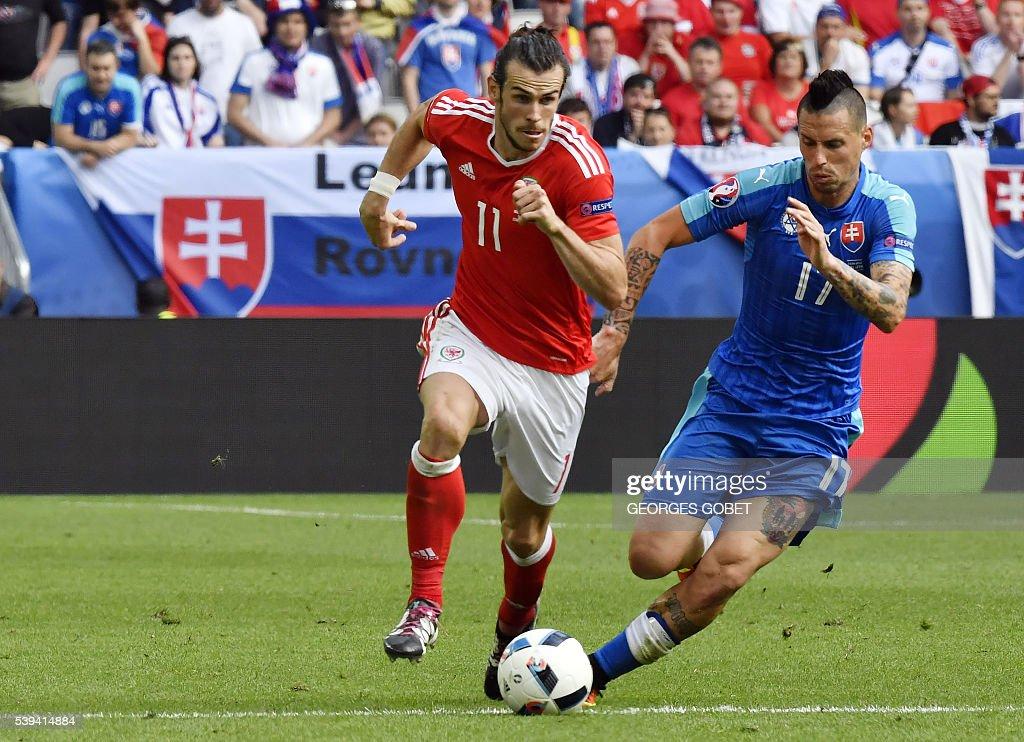 FBL-EURO-2016-MATCH3-WAL-SVK : News Photo