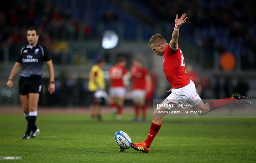 Italy v Wales - Guinness Six Nations - Stadio Olimpico : News Photo