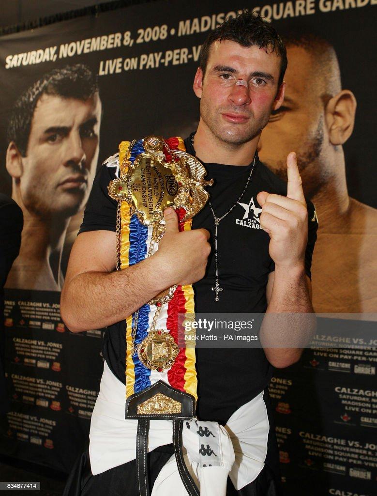 Boxing - Joe Calzaghe v Roy Jones Jr - Light-Heavyweight Title ...