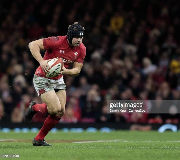 Wales' Leigh Halfpenny during the 2017 Under Armour Series match between Wales and Australia at Principality Stadium on November 11 2017 in Cardiff...