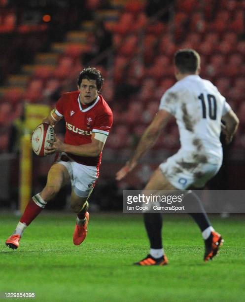 Wales Lloyd Williams during the Quilter International match between Wales and England as part of the Autumn Nations Cup at Parc y Scarlets on...
