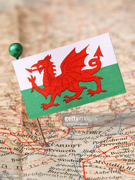 wales - welsh flag stock pictures, royalty-free photos & images