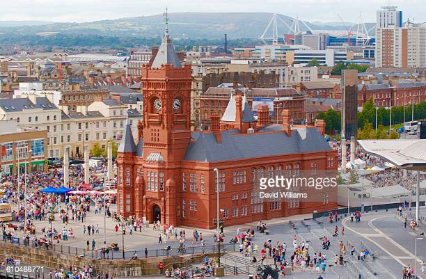 wales - cardiff wales stock pictures, royalty-free photos & images
