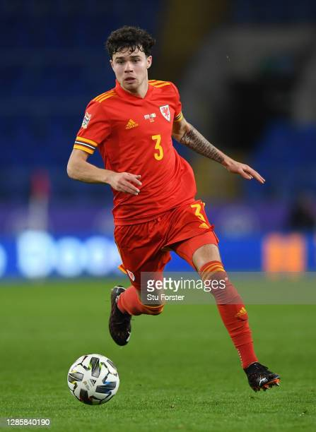 Wales player Neco Williams in action during the UEFA Nations League group stage match between Wales and Republic of Ireland at Cardiff City Stadium...