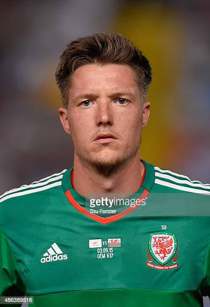 Wales player Wayne Hennessey pictured before the UEFA EURO 2016 Qualifier between Cyprus and Wales at GPS Stadium on September 3 2015 in Nicosia...