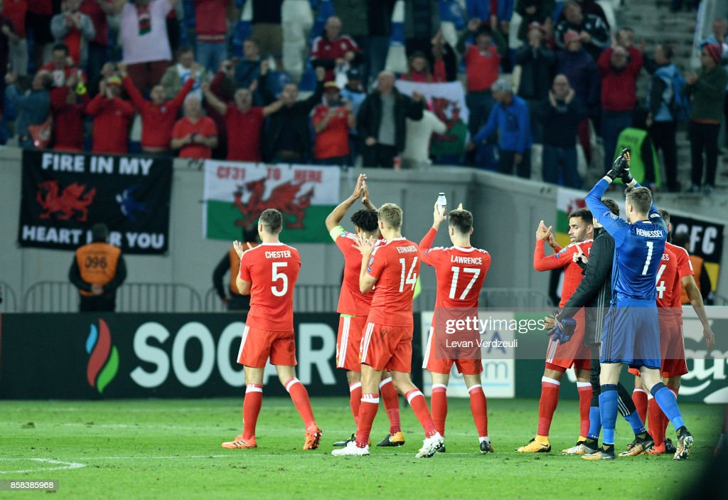 Georgia v Wales - FIFA 2018 World Cup Qualifier : News Photo