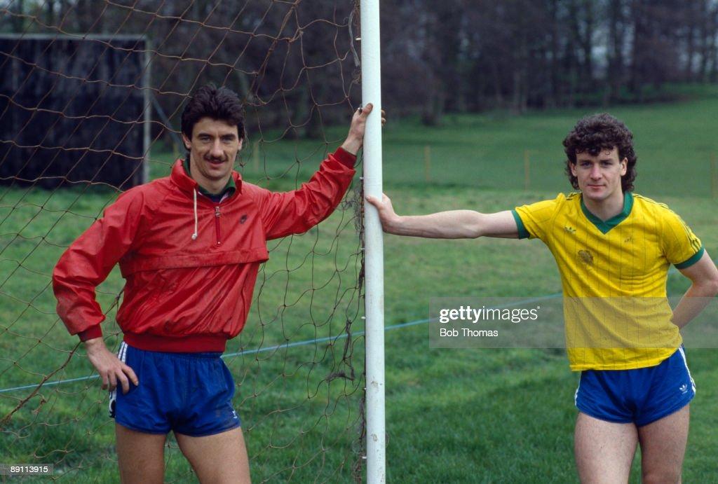 Ian Rush And Mark Hughes : News Photo