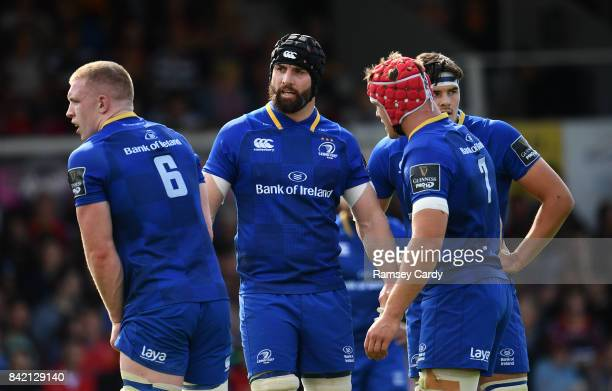 Wales United Kingdom 2 September 2017 Scott Fardy of Leinster during the Guinness PRO14 Round 1 match between Dragons and Leinster at Rodney Parade...