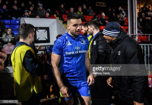 Wales United Kingdom 21 February 2020 Cian Kelleher of Leinster during the Guinness PRO14 Round 12 match between Ospreys and Leinster at The Gnoll in...
