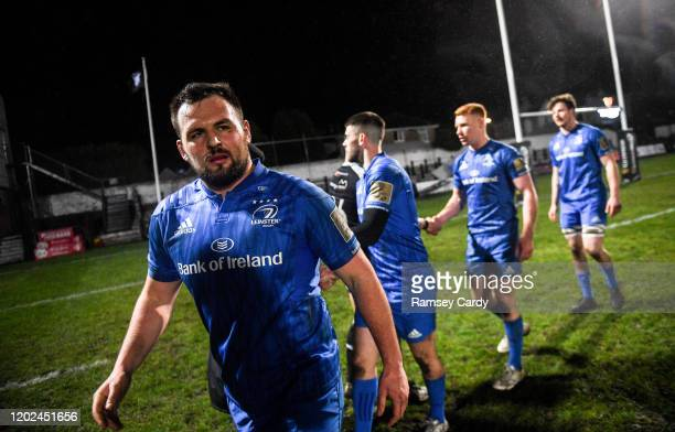Wales United Kingdom 21 February 2020 Jack Aungier of Leinster following the Guinness PRO14 Round 12 match between Ospreys and Leinster at The Gnoll...