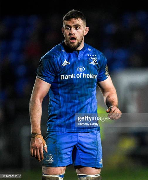 Wales United Kingdom 21 February 2020 Josh Murphy of Leinster during the Guinness PRO14 Round 12 match between Ospreys and Leinster at The Gnoll in...