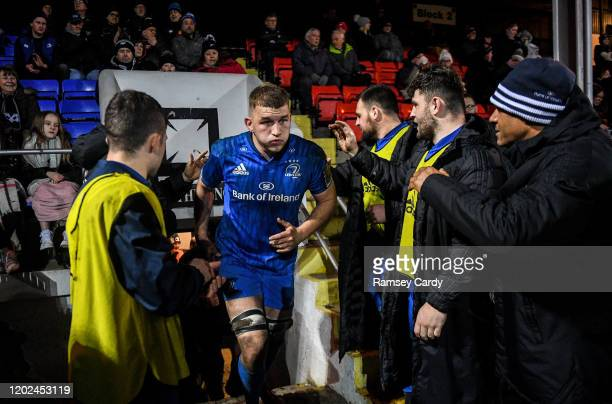 Wales United Kingdom 21 February 2020 Ross Molony of Leinster during the Guinness PRO14 Round 12 match between Ospreys and Leinster at The Gnoll in...