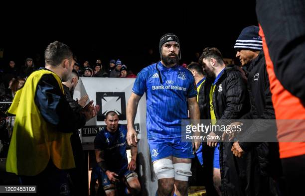 Wales United Kingdom 21 February 2020 Scott Fardy of Leinster during the Guinness PRO14 Round 12 match between Ospreys and Leinster at The Gnoll in...