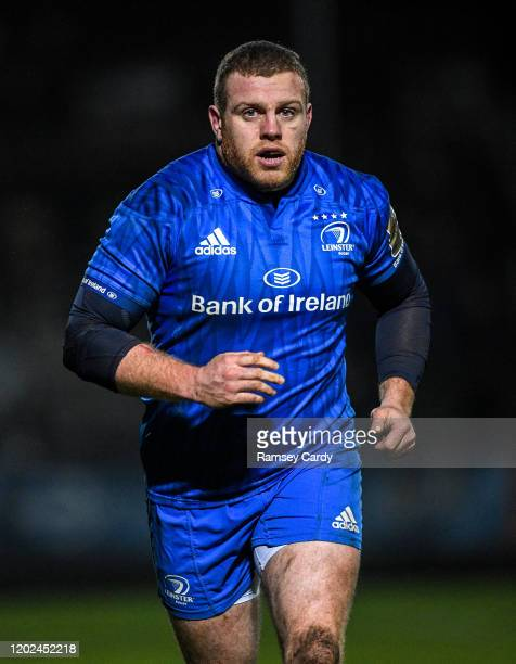 Wales United Kingdom 21 February 2020 Seán Cronin of Leinster during the Guinness PRO14 Round 12 match between Ospreys and Leinster at The Gnoll in...