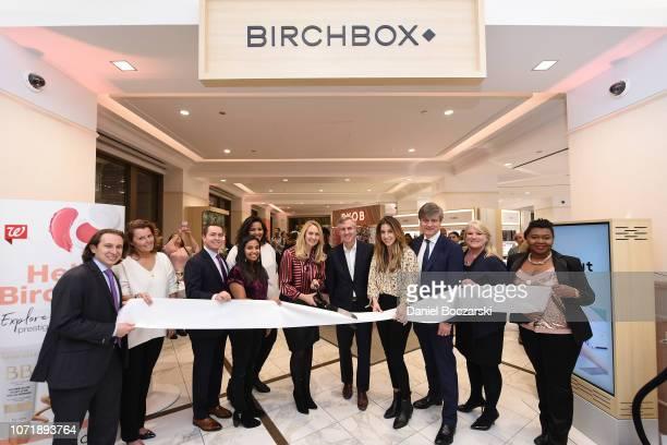 Walgreens and Birchbox executives, Jordan Shlensky, Walgreens Store Manager, Michelle Hobson, Senior Manager of Beauty Program Development at...